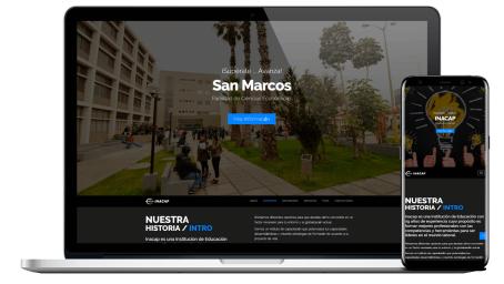 Diseño Web Empresarial INACAP Perú