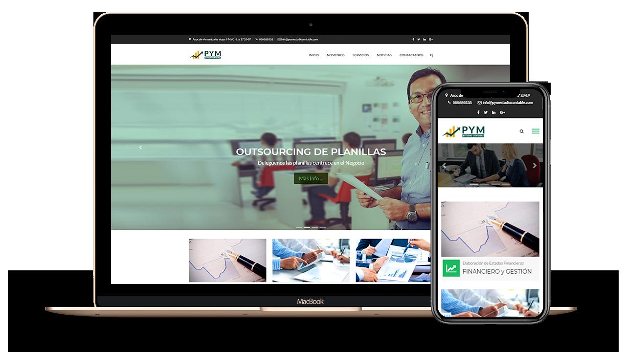 Diseño Web Empresarial para PYM Estudio Contable